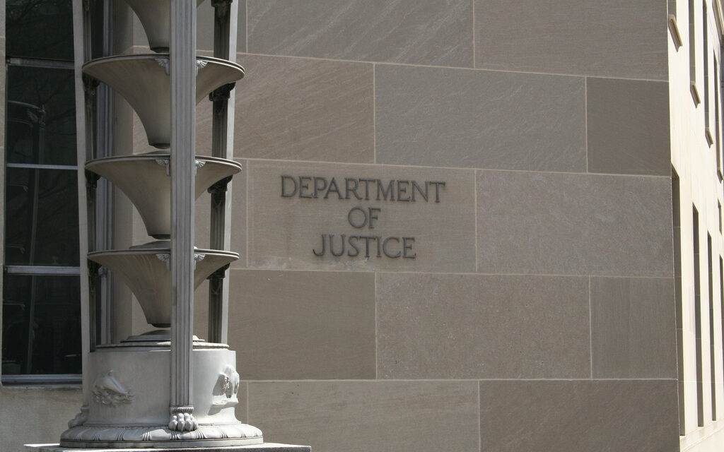 The Justice Department Accuses Trump of Felonies