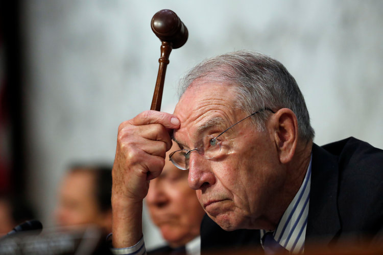 Chuck Grassley Getting Ready to Cut Someone