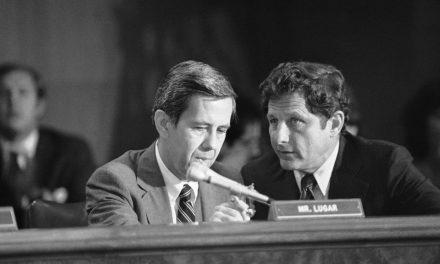 I'll Remember Richard Lugar Somewhat Fondly