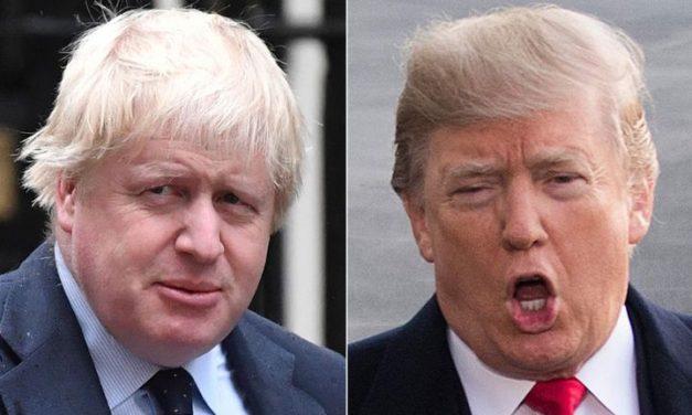 Boris Johnson and Donald Trump Have a Bad Day