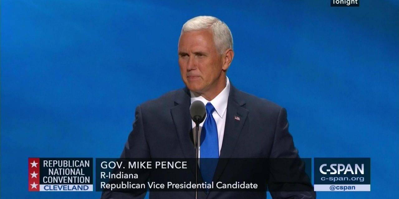 Isn't Mike Pence the Obvious Heir to Donald Trump?