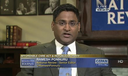 Ramesh Ponnuru and the Punching-Yourself-in-the-Face Form of Argument