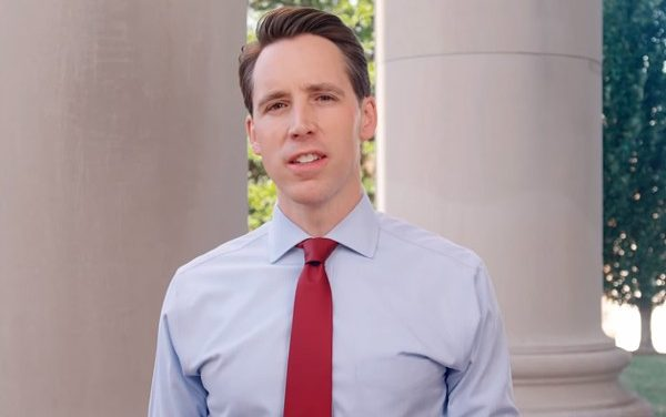 Wanker of the Day: Senator Josh Hawley