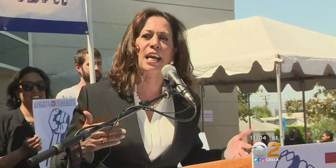 I Don't See Kamala Harris Breaking Out