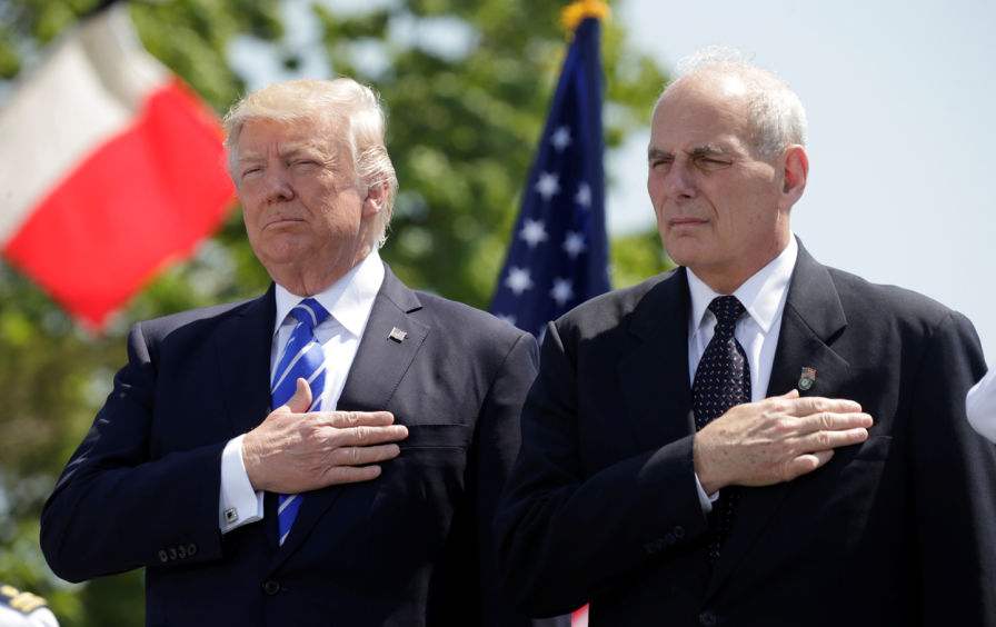 John Kelly Worked Closely With Trump and Knew He Was a Criminal
