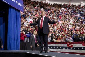 Trump's Asks Women Ralliers If Husbands Approved Their Attendance
