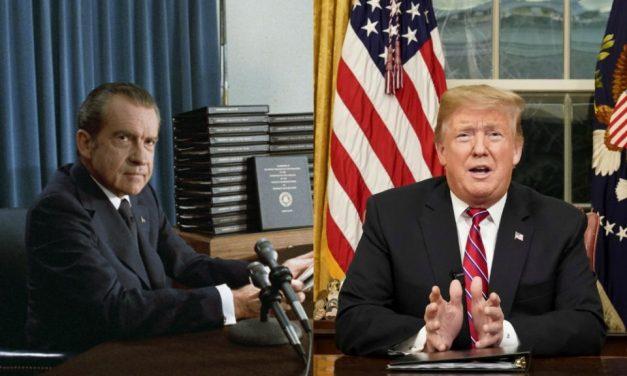 Are Richard Nixon and Donald Trump the Same Person?