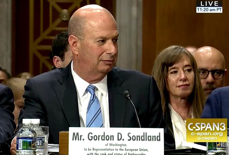 So, What is Lyin' Gordon Sondland Gonna Do?