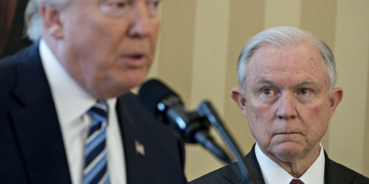 Who's Ready for the Trump/Sessions Cage Match?
