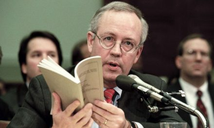Kenneth Starr Thinks Today's Testimony May Have Moved the Needle