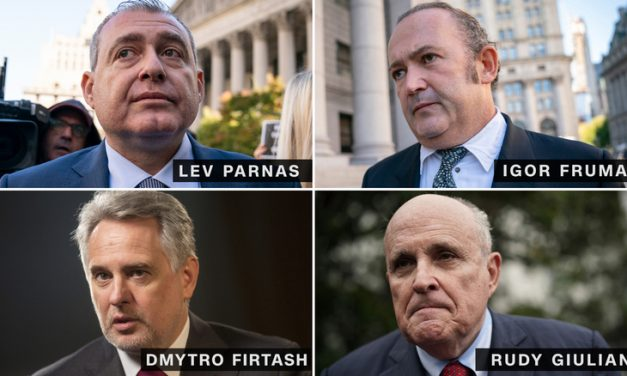 If Rudy Giuliani is a Hand Grenade, Lev Parnas is the Pin