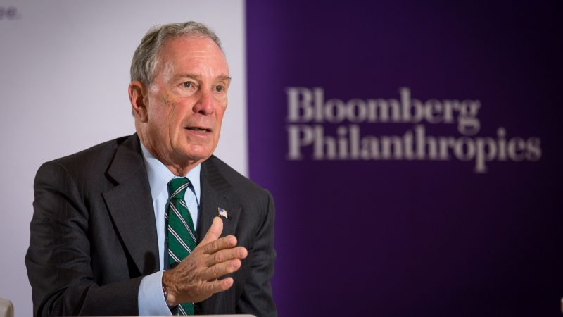 No to Michael Bloomberg