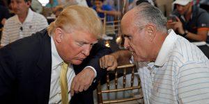Trump and Giuliani's Plan to Avoid Jail