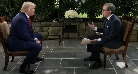 Trump's Chris Wallace Interview is a Stain on Our Nation