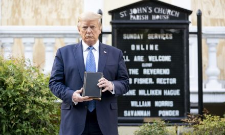 Trump's Lafayette Square Bible is Reportedly for Sale