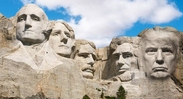 Does Trump Belong on Mount Rushmore?