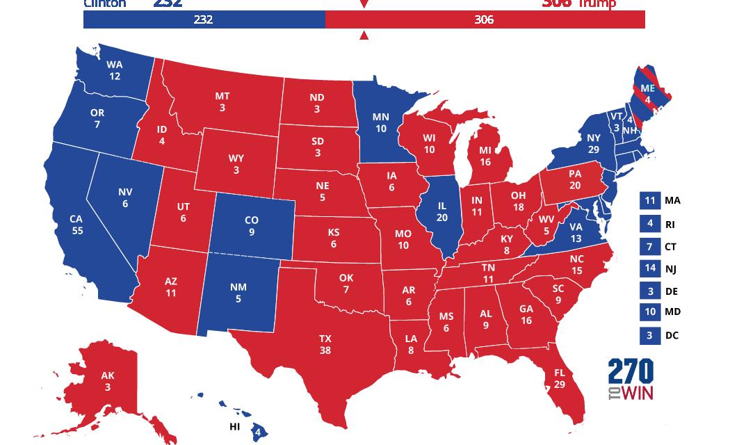 Trump's Electoral College Advantage Is Outrageous
