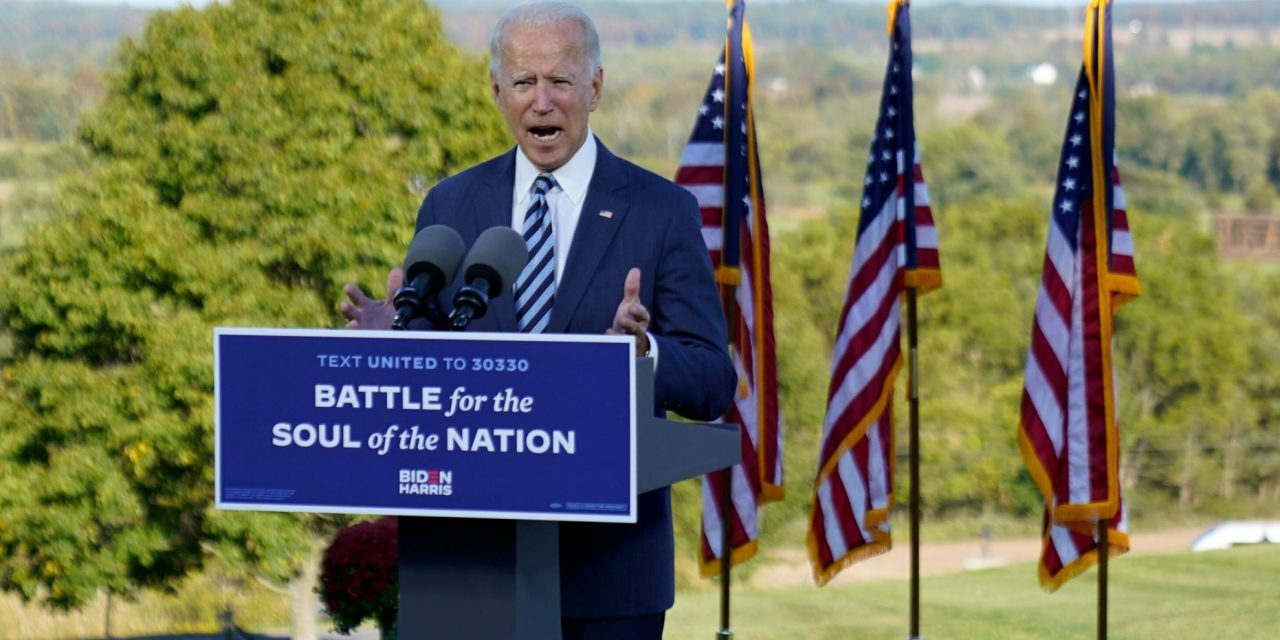 Biden Calls on Our Better Angels at Gettysburg