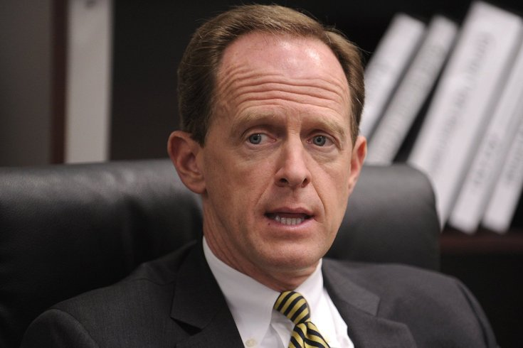 Pat Toomey Has Seen Enough