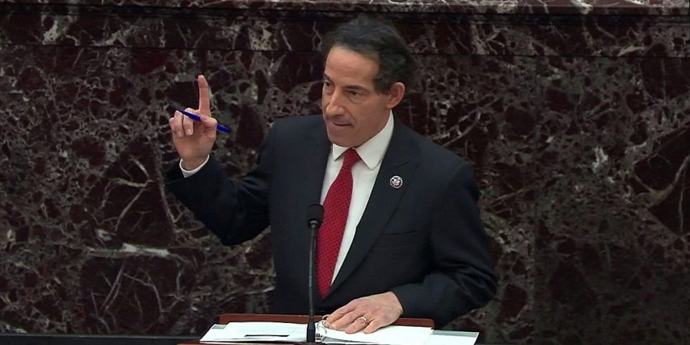 The Moral Clarity of Rep. Jamie Raskin