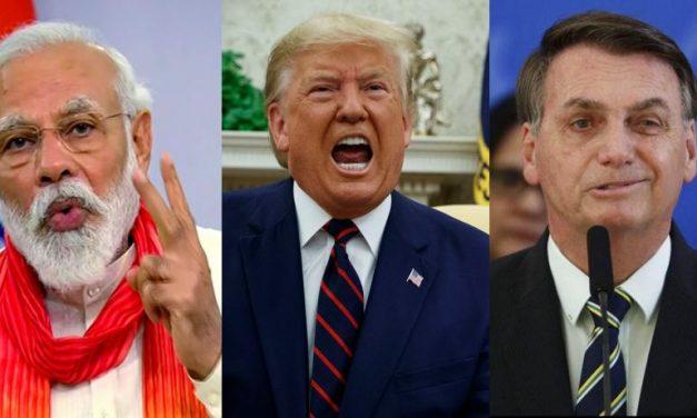 India and Brazil Still Living Through a Trumpish COVID-19 Nightmare