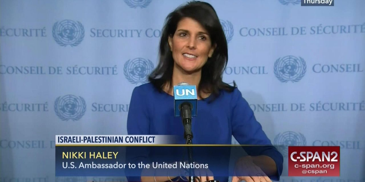 Nikki Haley and the Lack of Leadership on the Right