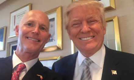 Two Months After Impeachment Trial, RNSC Gives Trump Champion of Freedom Award